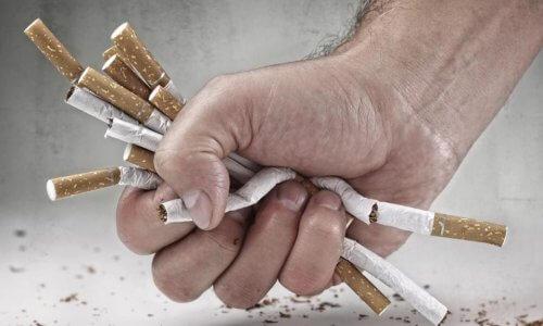 очищение после курения